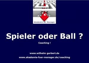 Spieler oder Ball?