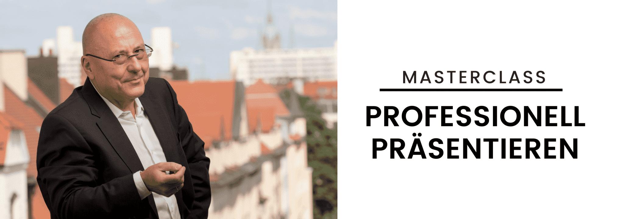 Masterclass Professionell Präsentieren